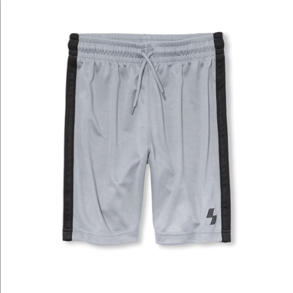 The Children's Place Other - NWT PLACE Boys Gray Sport Side Stripe Shorts S 5/6
